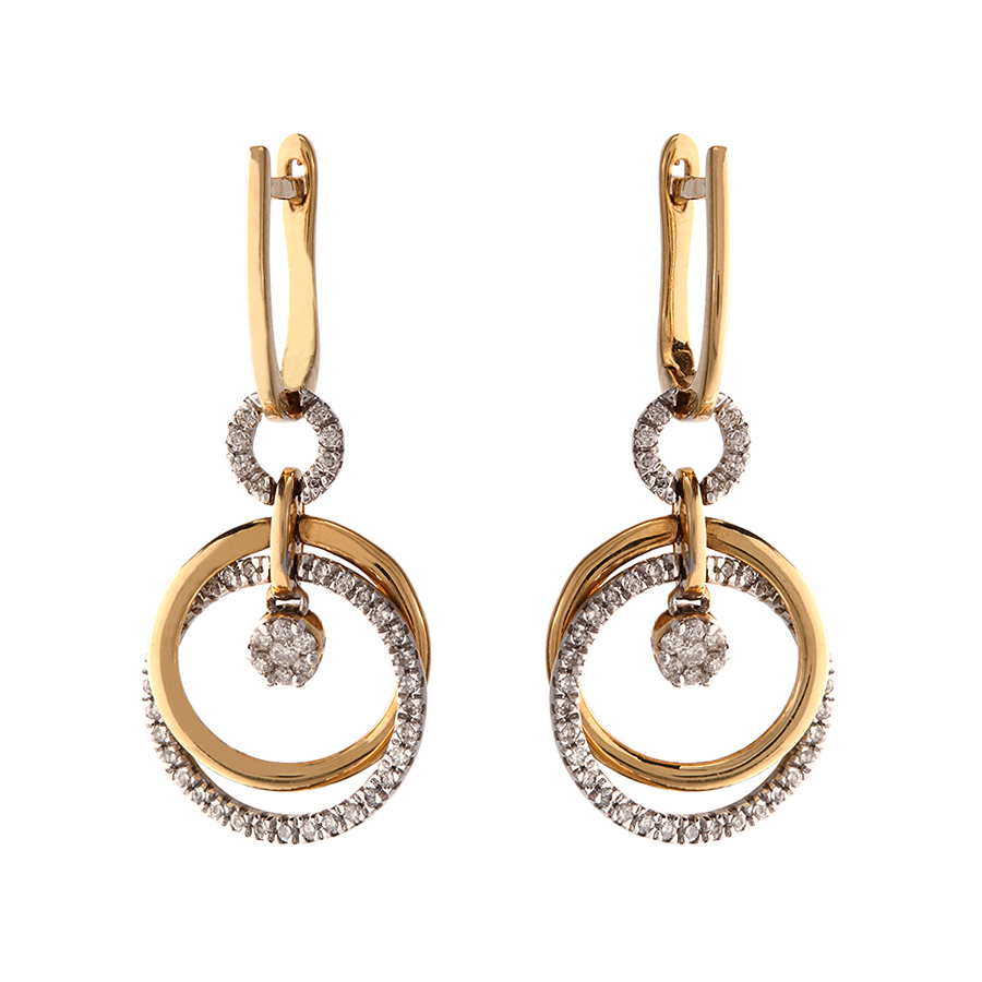 indiranagar earring jewels wedding ghi in diamond